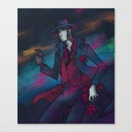 Neon Detective Canvas Print