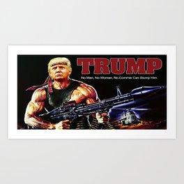 Can't Stump The Trump. Art Print