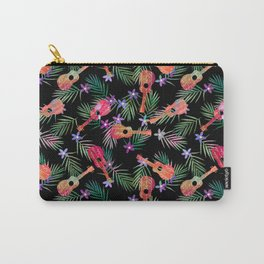 Aloha Fronds and Frets Carry-All Pouch