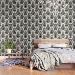 Hamsa Hand Pug Wallpaper