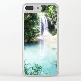 Paradise Awaits... Clear iPhone Case