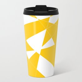 yellow diamond Travel Mug