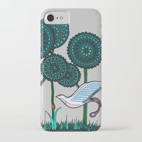 phoenix iPhone & iPod Cases featuring Phoenix by Evi Radauscher