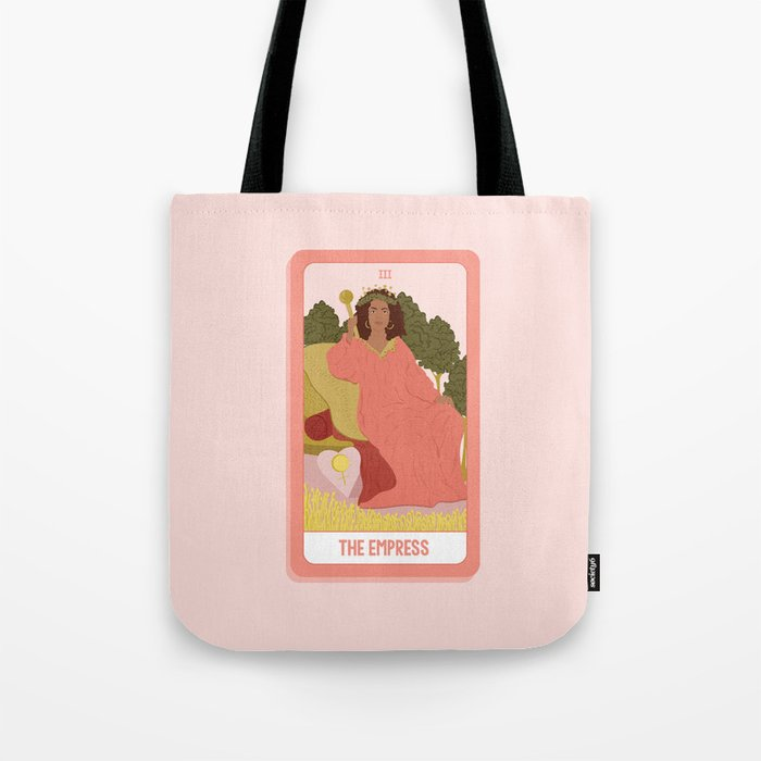 Tarot Card III: The Empress Tote Bag