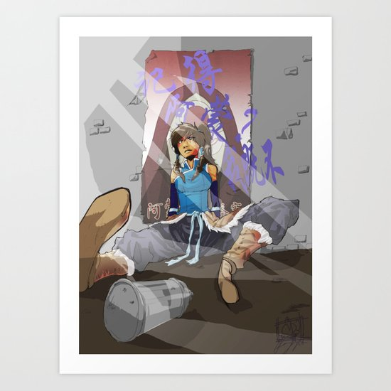 Do you Remmeber when a Amon was cool? Art Print