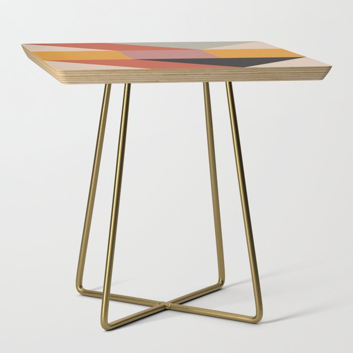 Abstract geometry Side Table