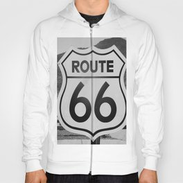Route 66 Sign Hoody