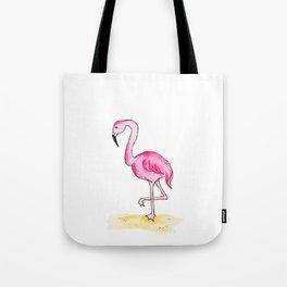 Fifi the Flamingo Tote Bag