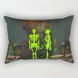 La Petite Mort, No. 4 Rectangular Pillow
