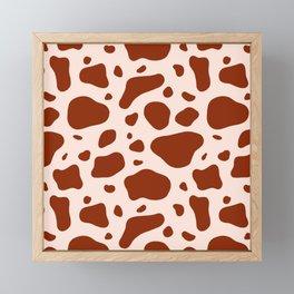 How Now Brown Cow Framed Mini Art Print