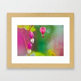 Ethereal Heart Framed Art Print