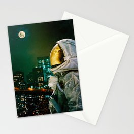 Between The Moon And The City Stationery Cards