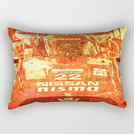 Nissan Le Mans 2015 Nismo number 22 tag heuer race car Rectangular Pillow