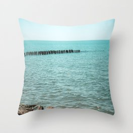 Nature photo - vacation destination Throw Pillow