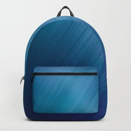 Jelly Bean & Blue Shades Metallic Pattern Backpack