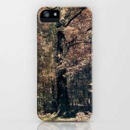 Tales from the trees 3 iPhone Case