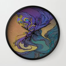 Magic Smoke Wall Clock