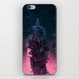 The Technocore / 3D render of futuristic structure iPhone Skin