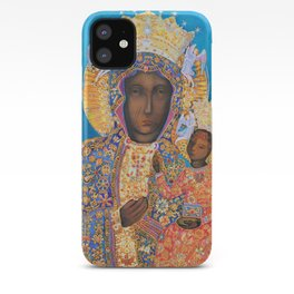 Black Madonna Poland Our Lady of Czestochowa Virgin Mary Christmas Gift Religion iPhone Case