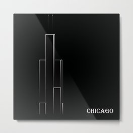 Chicago 1B Metal Print