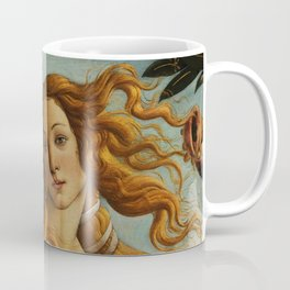 The Birth of Venus detail Coffee Mug