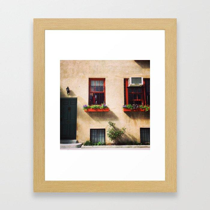 Enclave Framed Art Print