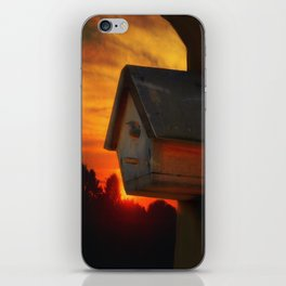 PLEASE COME HOME iPhone Skin