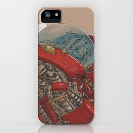 Red Ship Rising iPhone Case