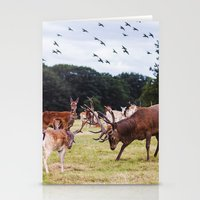 marauders Stationery Cards featuring Mr Prongs and other Marauders by Gioia De Antoniis