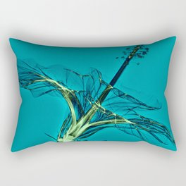 X-rayed Hibiscus No. 2 Rectangular Pillow