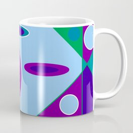 Circles and Ellipses Coffee Mug
