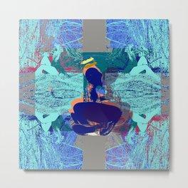 Blue Angel Walked out of Heaven Metal Print