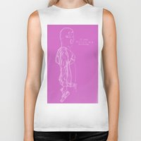 vampire weekend Biker Tanks featuring Spring Breakers/Vampire Weekend (Pink) by Blake Holland
