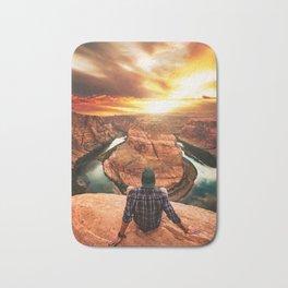 on top of canyonlands Bath Mat