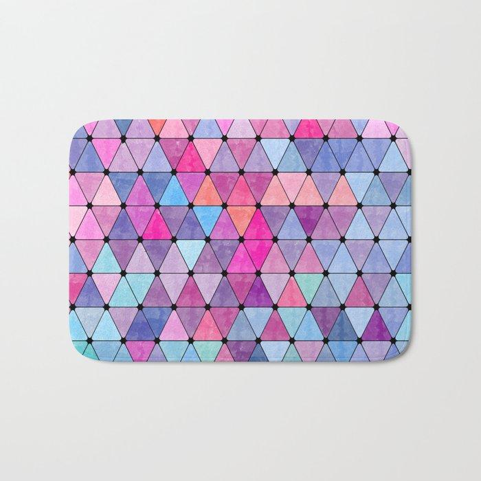 Lovely geometric Pattern VIV Bath Mat