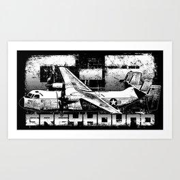 C-2 Greyhound Art Print