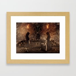 The Lord of Death Framed Art Print