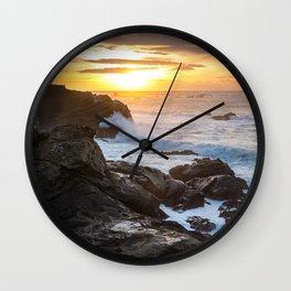 Cape Arago Sunset Wall Clock