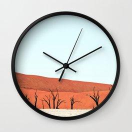 Deadvlei V Wall Clock