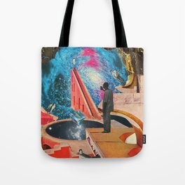The Institute of Telelevitation at Academe Galaxa Tote Bag
