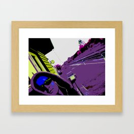 Working with Waiting Framed Art Print