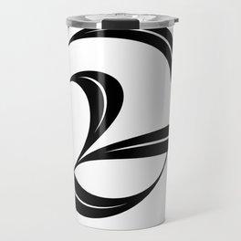 Swash ampersand Travel Mug