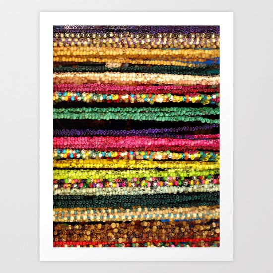 More Indian colors Art Print