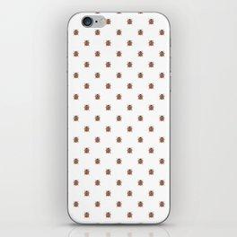 Lucky Ladybug Watercolor Print Pattern iPhone Skin