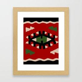 Kilim Framed Art Print