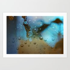 Rain Drops Keep Fallin Art Print