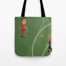 Gerrard vs Olympiakos Tote Bag