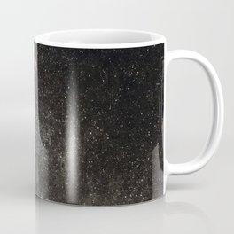 Starry sky with millions of stars, Milky Way galaxy, Eagle nebula, Omega nebula Coffee Mug