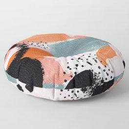 Sunset Kiss Floor Pillow