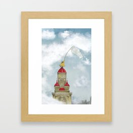 The Cloud Catcher Framed Art Print